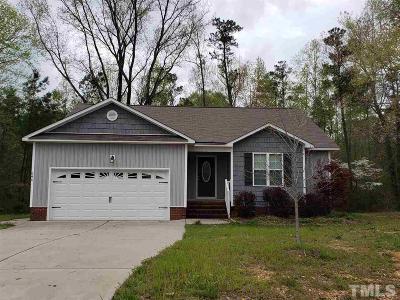 Johnston County Rental Contingent: 646 Santa Gertrudis Drive