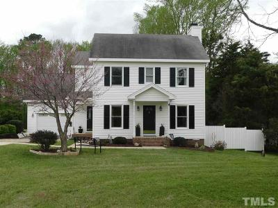 Wendell Single Family Home Pending: 1424 Pleasants Road