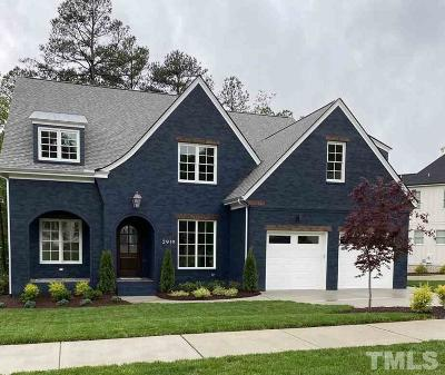 Raleigh Single Family Home Pending: 2919 Skybrook Oaks Drive