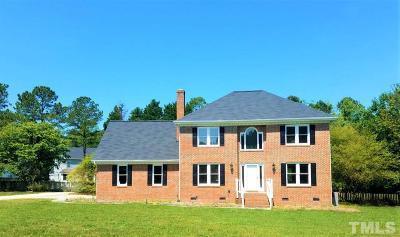 Fuquay Varina Single Family Home For Sale: 5120 Beckwyck Drive