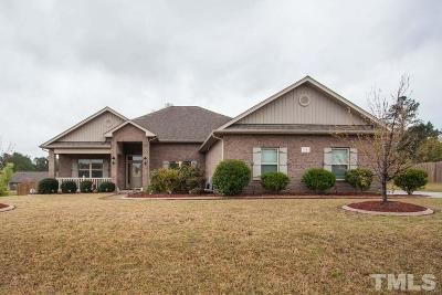 Angier Single Family Home Pending: 11 Destiny Circle
