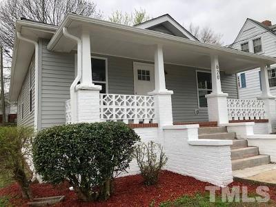 Durham Single Family Home For Sale: 620 Massey Avenue