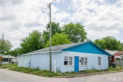 Wake County Commercial Lots & Land Pending: 1220 Pender Street