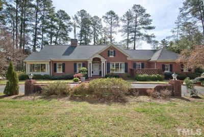 Durham Single Family Home For Sale: 3719 Hope Valley Road