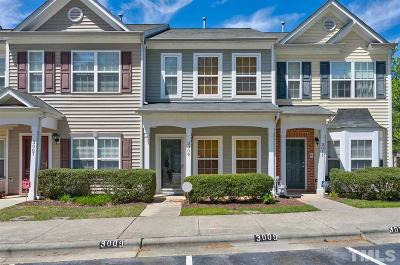 Durham Townhouse For Sale: 3009 Courtney Creek Boulevard