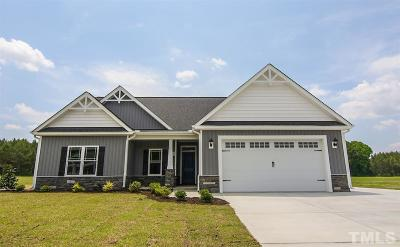 Kenly Single Family Home Contingent: 191 Fallingbrook Drive