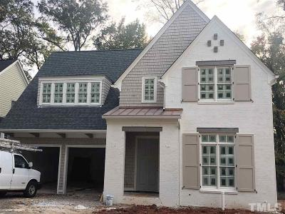 Raleigh Single Family Home For Sale: 2137 Pine Drive