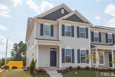 Morrisville Townhouse For Sale: 1047 Myers Point Drive