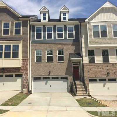 Apex Townhouse For Sale: 904 Dalton Ridge Place