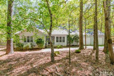 Pittsboro Single Family Home For Sale: 633 Spindlewood
