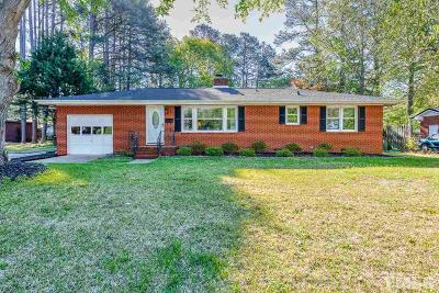 Garner Single Family Home For Sale: 1205 Highland Road
