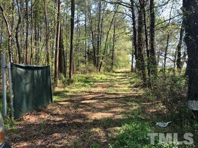 Zebulon Residential Lots & Land For Sale: Driver Road