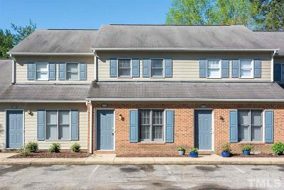Durham Townhouse For Sale: 2605 Camellia Drive