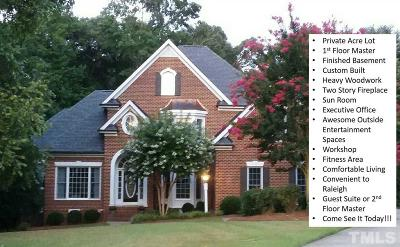 Clayton Single Family Home For Sale: 4 Pinnacle Point