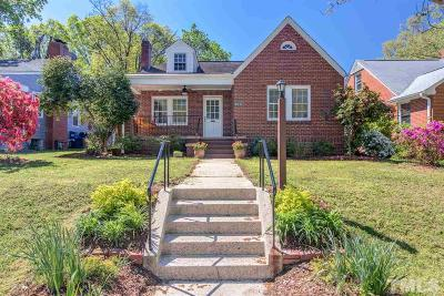 Durham Single Family Home For Sale: 313 Monmouth Avenue