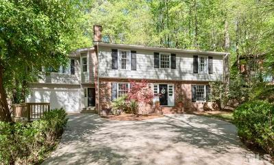 Chapel Hill Single Family Home Contingent: 613 Shady Lawn Road