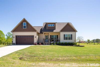 Benson Single Family Home Contingent: 98 Creech Place Drive