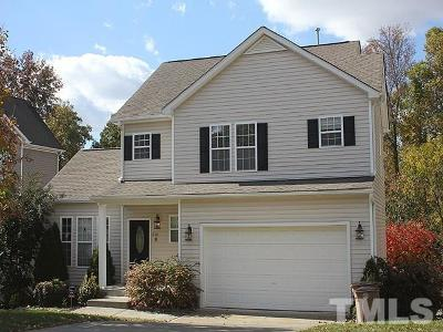 Wake Forest Single Family Home Contingent: 512 Deacons Ridge Street