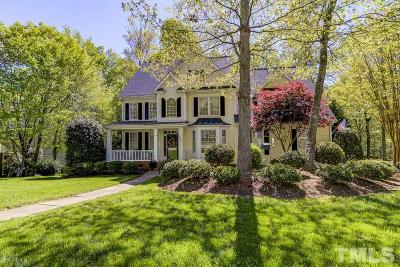 Holly Springs Single Family Home For Sale: 301 Sunset Grove Drive