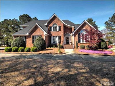 Fuquay Varina Single Family Home Pending: 7800 St Annes Way