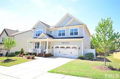 Holly Springs Single Family Home For Sale: 104 Hartness Drive