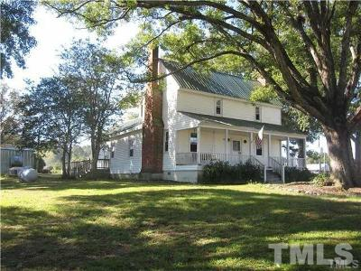 Benson Single Family Home For Auction: 4158 Benson Hardee Road