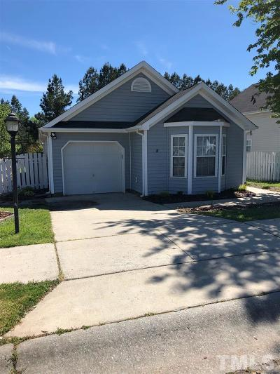 Durham Single Family Home For Sale: 611 Edenberry Drive
