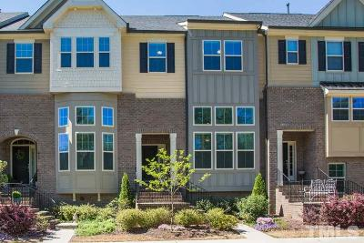 Apex Townhouse For Sale: 418 Sawcut Lane