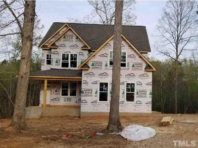Zebulon Single Family Home For Sale: 13101 Brantley Woods Road