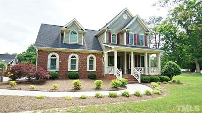 Zebulon Single Family Home For Sale: 2469 Village Of Wakefield Drive