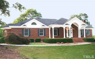 Harnett County Single Family Home Contingent: 711 Maple Road