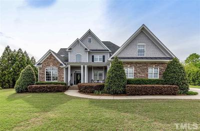 Fuquay Varina Single Family Home For Sale: 2120 Stone Pasture Road