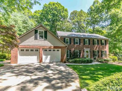 Raleigh Single Family Home For Sale: 8632 Valley Brook Drive
