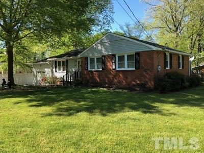 Raleigh Single Family Home For Sale: 407 Fenton Street