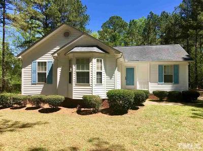 Johnston County Rental For Rent: 1722 Rock Pillar Road