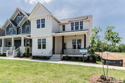 Durham Single Family Home For Sale: 805 Watercolor Way