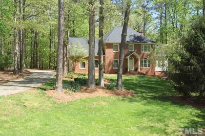 Chapel Hill Single Family Home For Sale: 124 Cobblestone Drive