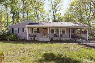 Cary Single Family Home For Sale: 512 Ellynn Drive