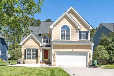 Cary Single Family Home Contingent: 105 Yorkhill Drive