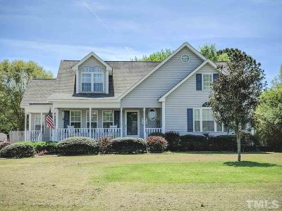 Wake Forest Single Family Home Pending: 1340 Sweetclover Drive