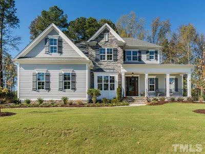 Wake Forest Single Family Home For Sale: 1212 Reservoir View Lane #Lt36