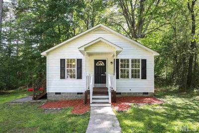 Wake Forest Single Family Home Contingent: 424 E Spring Street
