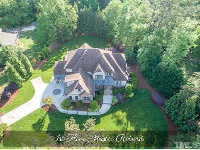 Wake Forest Single Family Home Contingent: 7504 Clayshant Court