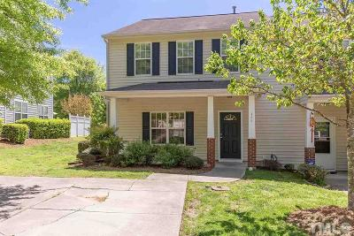 Durham Townhouse For Sale: 111 Basset Hall Drive