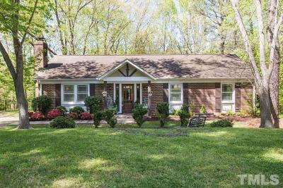 Raleigh Single Family Home Pending: 6031 Stratton Place
