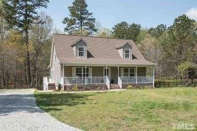 Wake County Single Family Home For Sale: 8009 Hinton Road