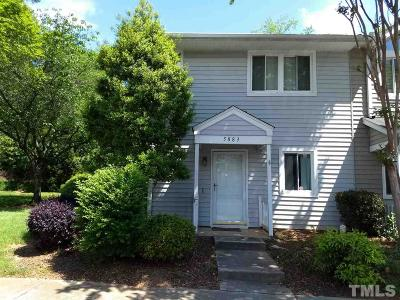Townhouse For Sale: 5883 Shady Grove Circle