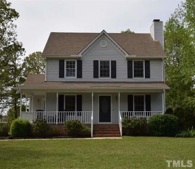 Johnston County Single Family Home Pending: 300 Blair Drive