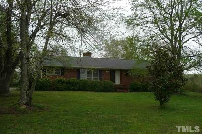 Hillsborough Single Family Home For Sale: 3020 Nc 57