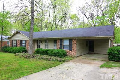 Durham Single Family Home For Sale: 5135 Kenwood Road